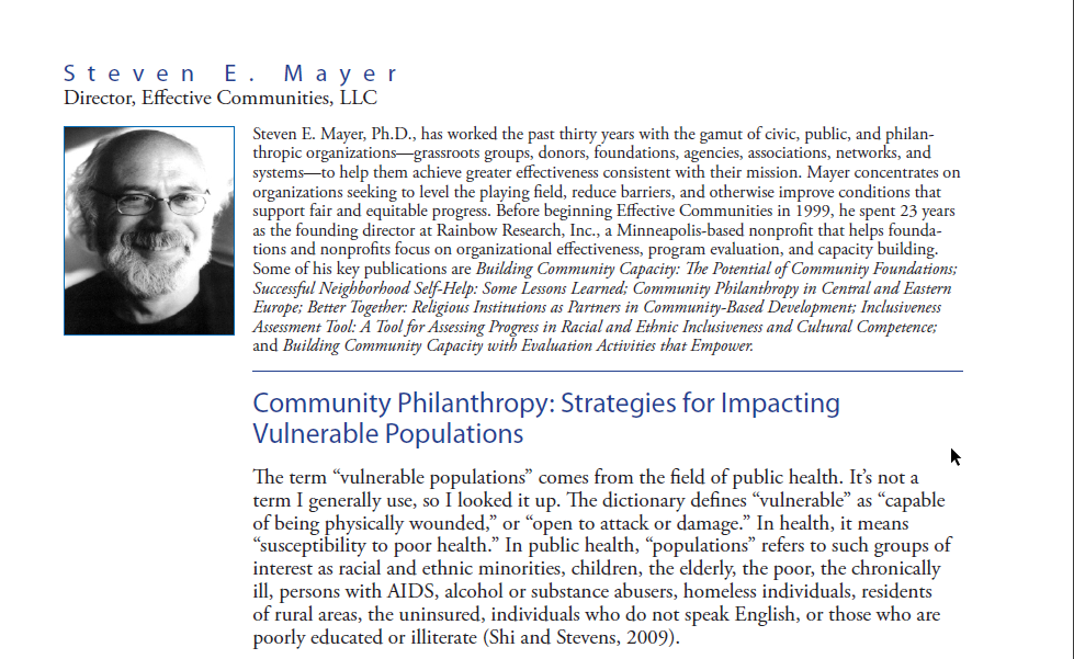 strategic philanthropy project The pal project utilizes innovative, cutting-edge strategies in fundraising if you would like to explore the possibilities of planned philanthropy and perhaps strengthen your own financial situation.